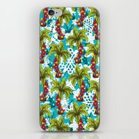 Tropical Christmas iPhone & iPod Skin