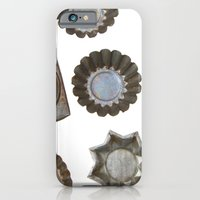 iPhone & iPod Case featuring Vintage Tart Tins by diane555