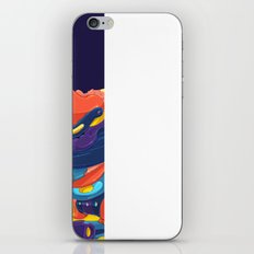 Moon & Stars iPhone & iPod Skin