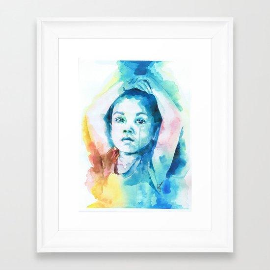 Devolution Framed Art Print