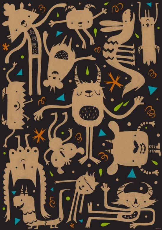Topsy Turvy - Dark Art Print