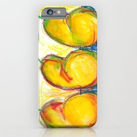 iPhone & iPod Case featuring Pear Trio by Libby Brown