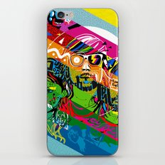 Tribute to Ed Banger Records iPhone & iPod Skin