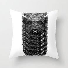 Bi Zone Throw Pillow