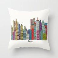 Tokyo Throw Pillow