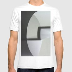 Cylinder SMALL White Mens Fitted Tee