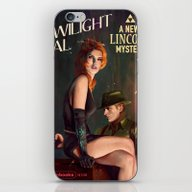 iPhone & iPod Skin featuring Twilight Gal by Astor Alexander