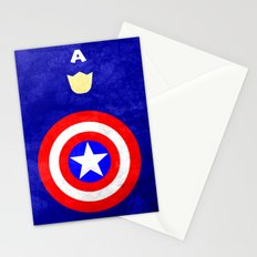 Captain America: Avengers Movie Variant Stationery Cards
