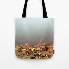 Autumn by the water Tote Bag