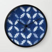 Shibori One Wall Clock
