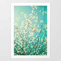 The Dogwoods Are Bloomin… Art Print