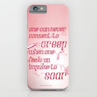Be who you are... - pink iPhone 6 Slim Case