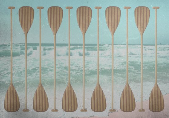 Stand Up Paddle Art Print