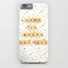 Home is Where You Are iPhone 6s Slim Case