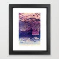Oceans In The Sky Framed Art Print