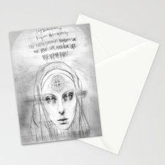 St. Benedict Ghost Stationery Cards