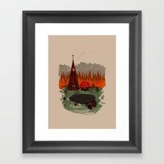 For Me Not For You Framed Art Print