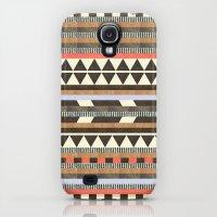 iPhone Cases featuring DG Aztec No.1 by Dawn Gardner