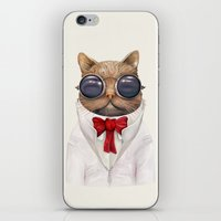 Astro Cat iPhone & iPod Skin