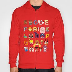 Child Of The 80s Alphabe… Hoody