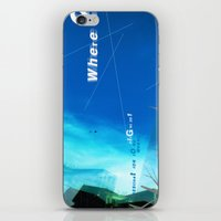 where? iPhone & iPod Skin
