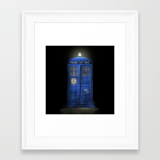 """Death – The Doctor's Truest Companion"" Framed Art Print"