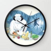 Frozen Dinner Wall Clock