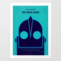 No406 My The Iron Giant … Art Print