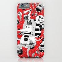 iPhone & iPod Case featuring rot zeichentusche  by ALVAREZ
