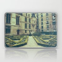 French Garden Maze IV Laptop & iPad Skin