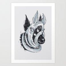 The Facade Art Print