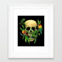 Life & Death Framed Art Print