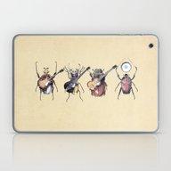 Laptop & iPad Skin featuring Meet The Beetles by Eric Fan