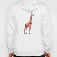 Pink Giraffe Hoody