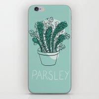 Parsley iPhone & iPod Skin