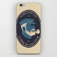 To Hell With Luck! iPhone & iPod Skin