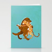 dancing Stationery Cards