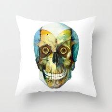 SKULL#02 Throw Pillow