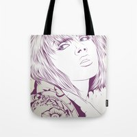 Thinking about something Tote Bag