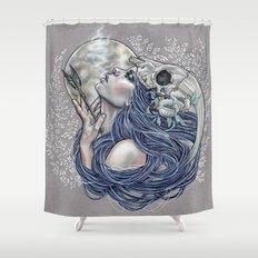 Final Breath Shower Curtain