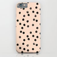 iPhone & iPod Case featuring dots II by Grace