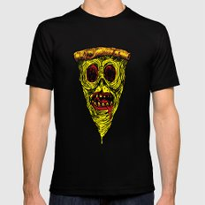 Pizza Face - Zombie Black Mens Fitted Tee SMALL