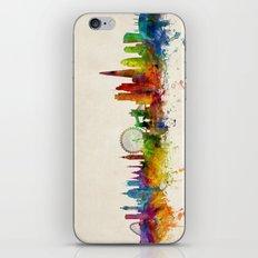 London England Skyline iPhone & iPod Skin