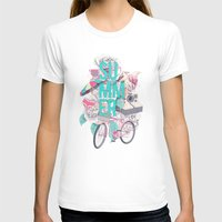 Summer Womens Fitted Tee White SMALL