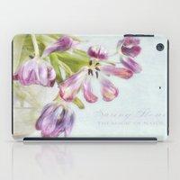 love tulips iPad Case