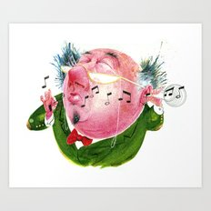 The Music Critic Art Print