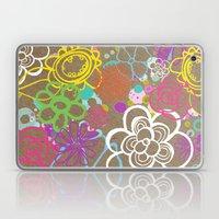 Dancing Flowers Laptop & iPad Skin