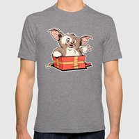 Gizmo Gift Mens Fitted Tee Tri-Grey SMALL
