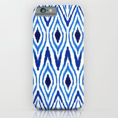 Ikat Blue Slim Case iPhone 6s