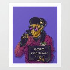 Joker Goon Art Print